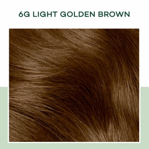 Clairol Natural Instincts 6G Light Gold Brown Hair Dye Kit Perspective: bottom