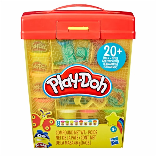 Play-Doh Large Tools & Storage Activity Set Perspective: bottom