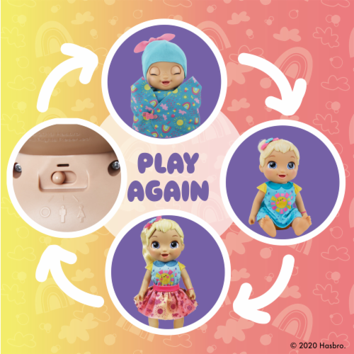 Baby Alive Baby Grows Up Happy - Happy Hope or Merry Meadow Perspective: bottom