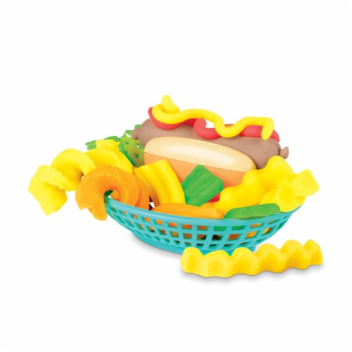 Play-Doh Kitchen Creations Spiral Fries Playset Perspective: bottom