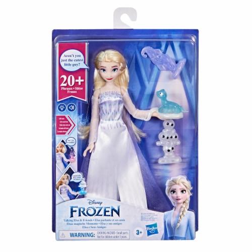 Disney's Frozen 2 Talking Elsa Doll Perspective: bottom