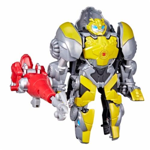 Hasbro Transformers Dinobot Adventures Bumblebee Figures Perspective: bottom