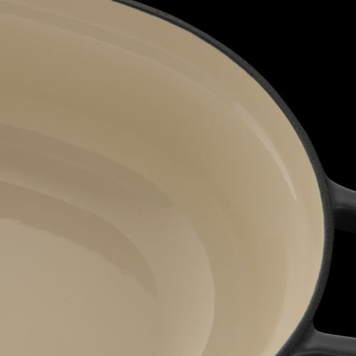 BergHOFF Cast Iron Covered Casserole - Grey Perspective: bottom