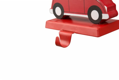 Glitzhome Weighted Car Christmas Stocking Holder - Red Perspective: bottom
