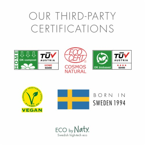 Eco by Naty Baby Wipes with Aloe Vera 672 Count Perspective: bottom