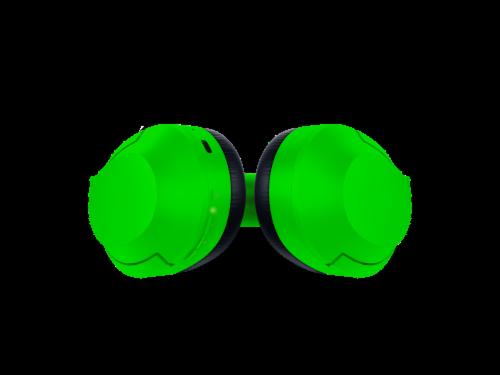 Razer Opus X Green Headphones Perspective: bottom
