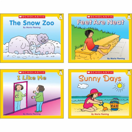 Scholastic Little Leveled Readers Level A Box Set Perspective: bottom