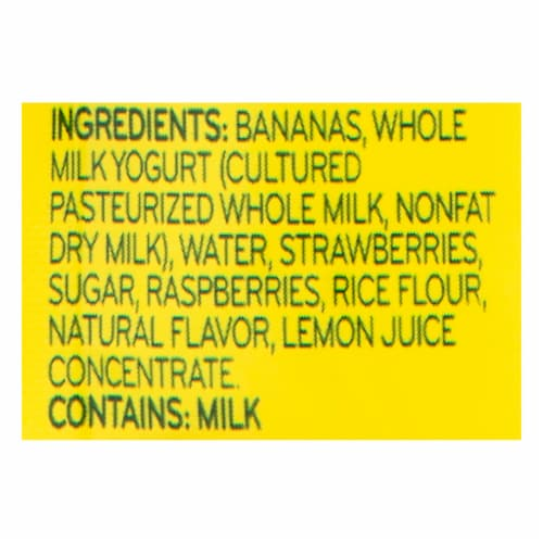 Beech-Nut Breakfast Yogurt Banana & Mixed Berry Stage 4 Baby Food Pouches Perspective: bottom