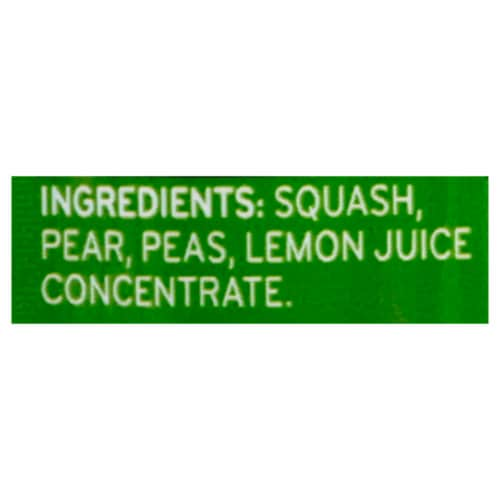Beech-Nut Veggies Squash Peas & Pears Stage 2 Baby Food Perspective: bottom
