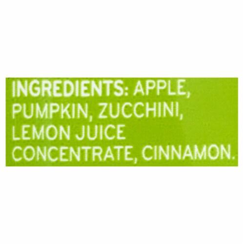 Beech-Nut Veggies Pumpkin Zucchini & Apple Stage 2 Baby Food Perspective: bottom
