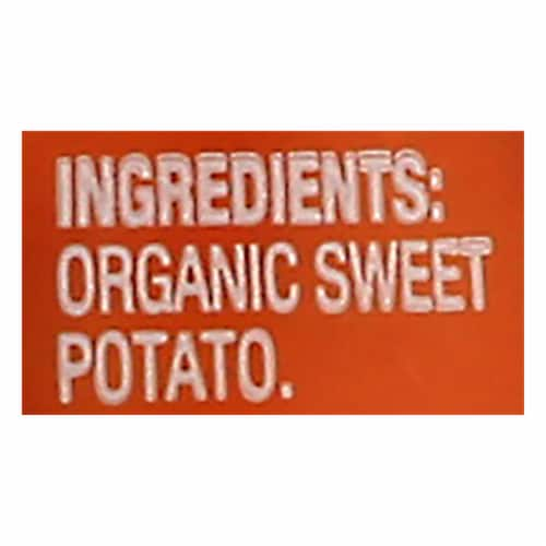 Beech-Nut Organics Just Sweet Potatoes Stage 1 Baby Food Perspective: bottom