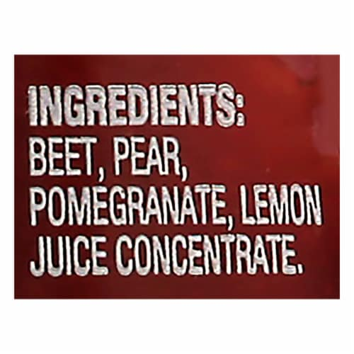 Beech-Nut Naturals Beets Pear & Pomegranate Stage 2 Baby Food Perspective: bottom