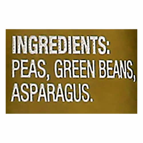 Beech-Nut Naturals Peas Green Beans & Asparagus Stage 2 Baby Food Perspective: bottom