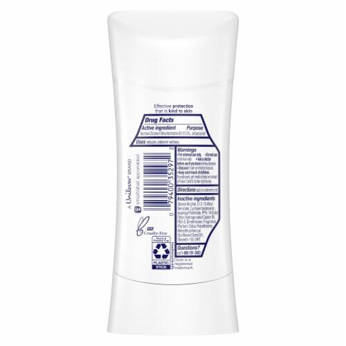 Dove Women 48-Hour Protection Advanced Care Cool Essentials Antiperspirant Deodorant Stick Perspective: bottom
