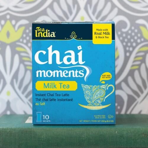 Tea India Chai Moments Milk Tea Instant Chai 10ct - 6 Pack Perspective: bottom