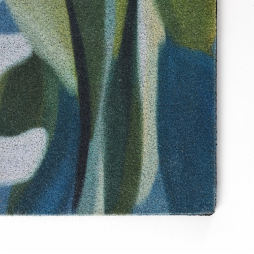 Stephan Roberts 18 IN. X 30 IN. RECYCLED CRUMB RUBBER DOOR MAT (6MM) - DAISIES Perspective: bottom