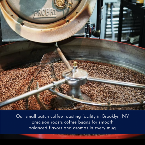 """Nobletree """"Reverence"""" Espresso Roast Whole Bean Coffee, 12 oz Perspective: bottom"""