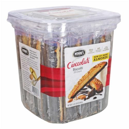 Nonnis Biscotti Cookies -- 150 per case. Perspective: bottom