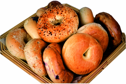 Bakery Fresh Goodness Sesame Seed Bagel Perspective: front