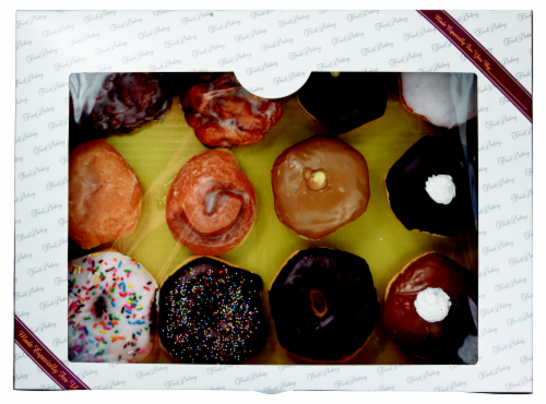 Bakery Fresh Goodness Self Serve Assorted Donuts Perspective: front