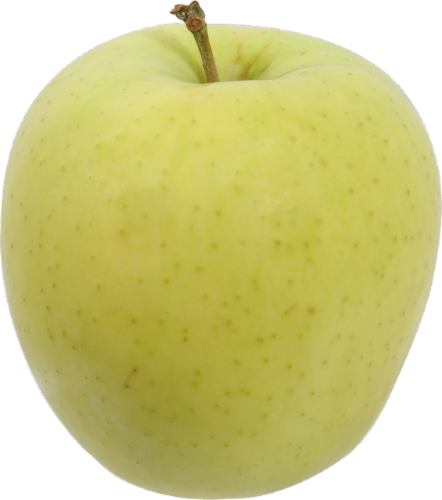 Extra Large Golden Delicious Apples Perspective: front