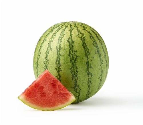 Mini Seedless Watermelon Perspective: front