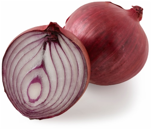 Jumbo Red Onions Perspective: front