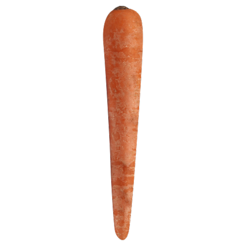 Carrots Perspective: front