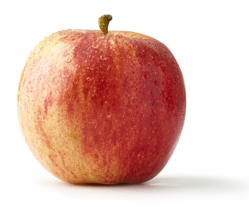 Large Gala Apple Perspective: front