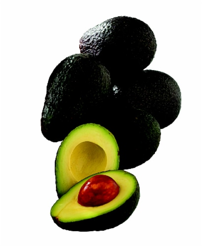 Small Green Avocado Perspective: front