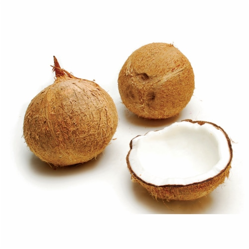 Coconuts in Husk Perspective: front