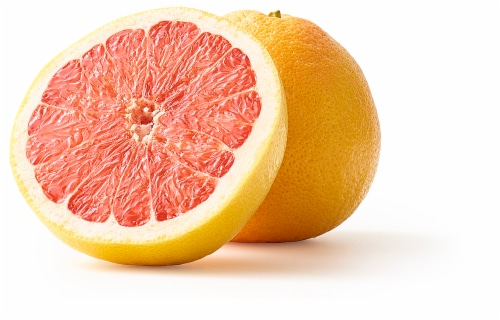 Large Red Grapefruit Perspective: front