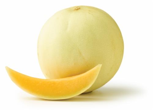 Honeydew Orange Flesh Perspective: front