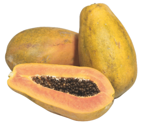 Mexican Papayas Perspective: front