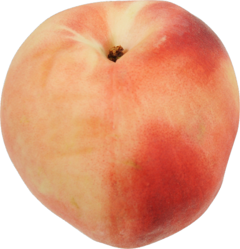 Peach - White Perspective: front