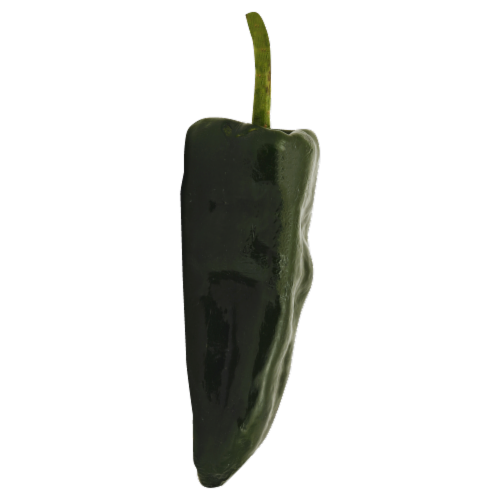 Pasilla Peppers Perspective: front