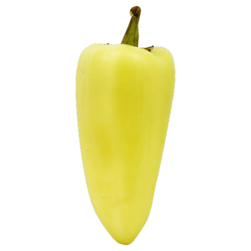 Yellow Chile Peppers Perspective: front