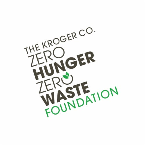 $10 Donation to The Kroger Co. Zero Hunger Zero Waste Foundation Perspective: front