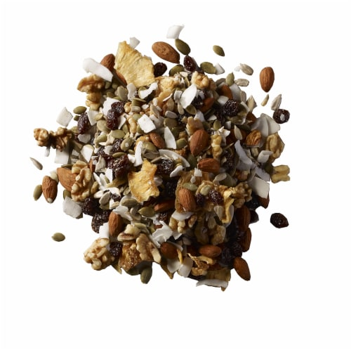 Organic Raw Fruit Nut Mix Perspective: front