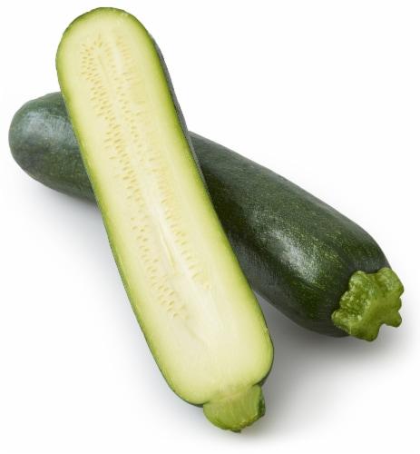Organic Zucchini Squash Perspective: front