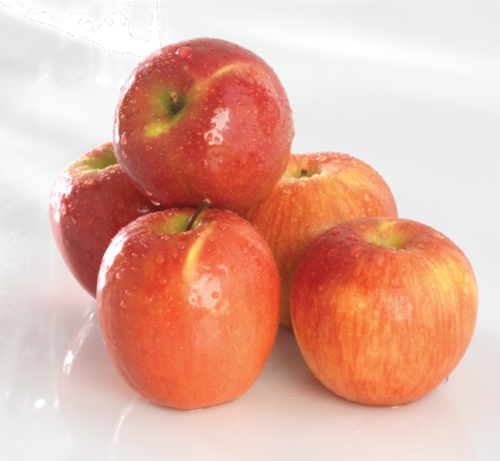 Organic Cripps Pink Apples Perspective: front
