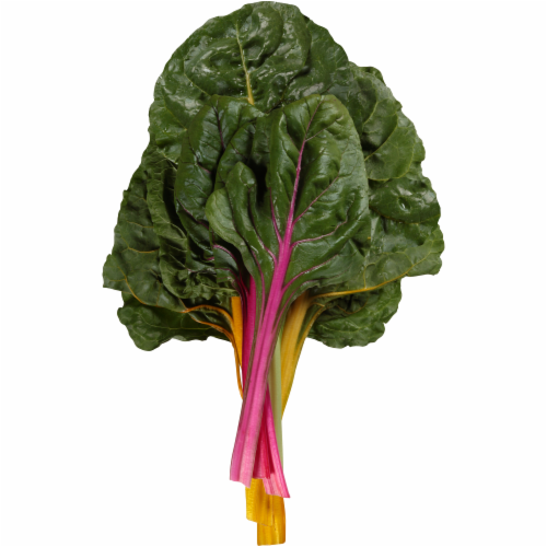 Organic Rainbow Chard Perspective: front