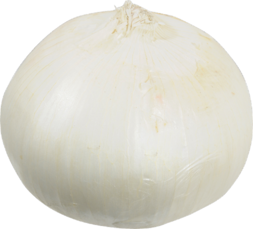 Organic - Onions - White Perspective: front