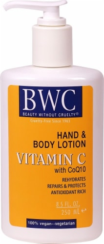 BWC Vitamin C Organic Hand & Body Lotion Perspective: front