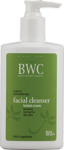 BWC Organic Aromatherapy Facial Cleanser Perspective: front
