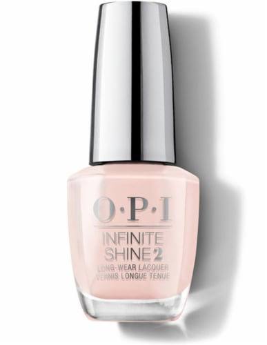 OPI Nail Polish Lacquer Infinite Shine - You're Blushing Again IS L46 Perspective: front