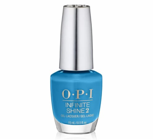 OPI Nail Polish Lacquer Infinite Shine - Wild Blue Yonder IS L41 Perspective: front