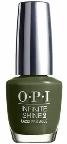 OPI Nail Polish Lacquer Infinite Shine - Olive for Green IS L64 Perspective: front