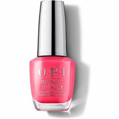 OPI Nail Polish Lacquer Infinite Shine - Strawberry Margarita  ISL M23 Perspective: front