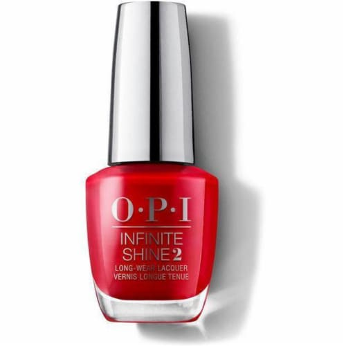 OPI Nail Polish Lacquer Infinite Shine - Big Apple Red  ISL N25 Perspective: front